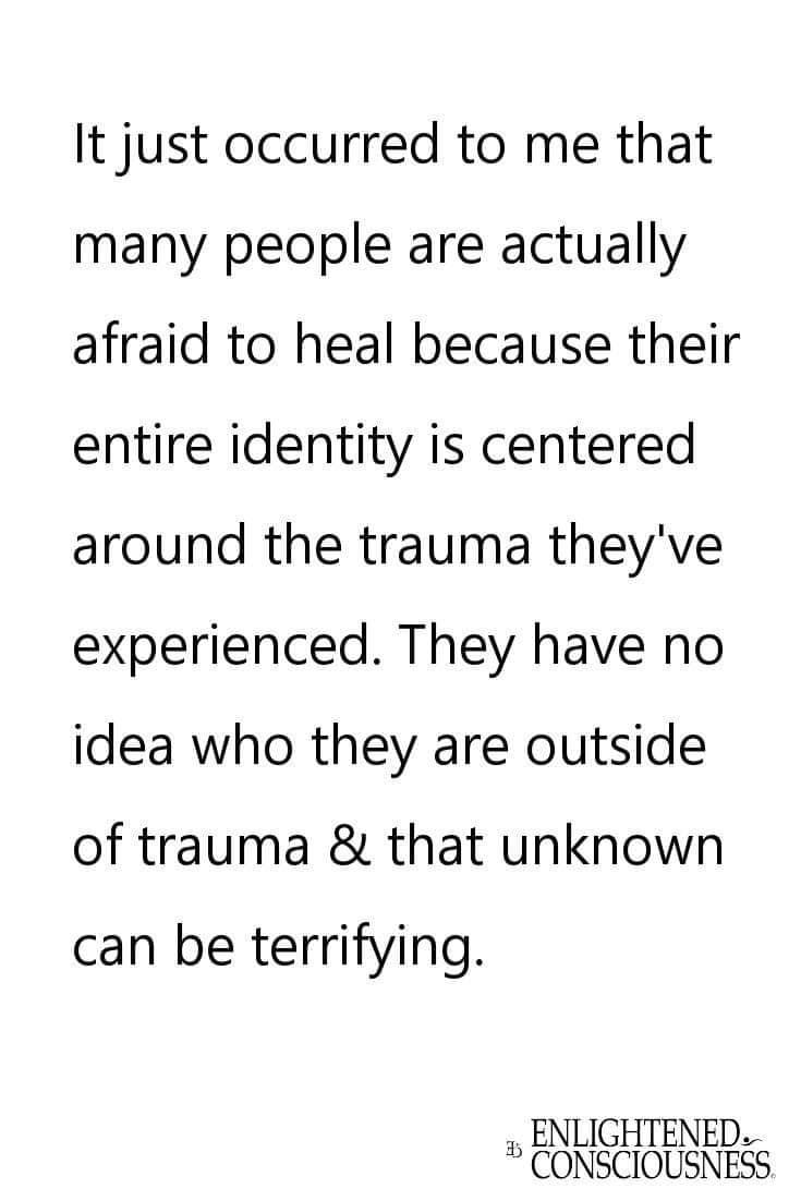 trauma addiction