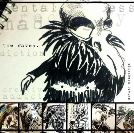 Raven Skull Series